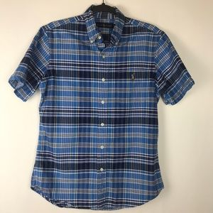 Ralph Lauren Mens Polo Size Small Button Up